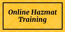 Formazione online su Hazmat